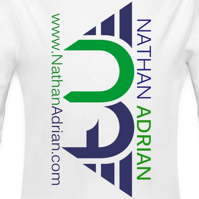 Nathan Adrian Baby Long Sleeve One Piece (Sideways Logo)