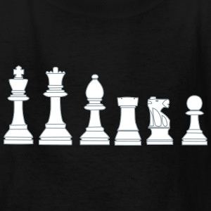 Pawns, chessmen, chess pieces Kids' Shirts - Kids' T-Shirt
