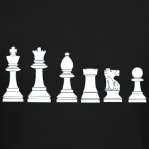 Pawns, chessmen, chess pieces Long Sleeve Shirts - Crewneck Sweatshirt