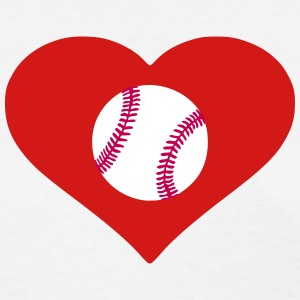 Heart Baseball (Women's) - Women's T-Shirt
