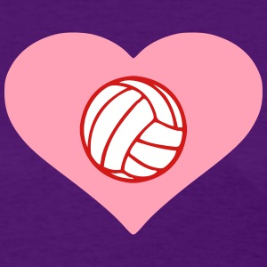 Heart Volleyball (Women's) - Women's T-Shirt