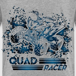 Blue Quad Racer Grunge Baby & Toddler Shirts - Toddler Premium T-Shirt