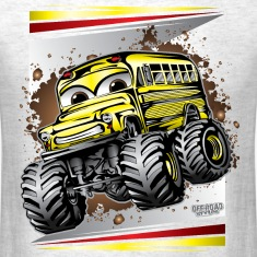 Cool Monster Bus T-Shirts