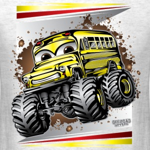 Cool Monster Bus T-Shirts - Men's T-Shirt