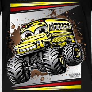 Cool Monster Bus Kids' Shirts - Kids' Premium T-Shirt