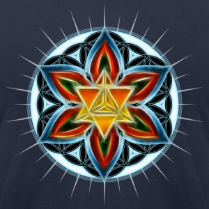 Merkaba, Flower of Life, Spirituality, Star,  T-Shirts - Men's T-Shirt by American Apparel