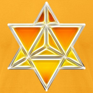 Merkaba, spirituality, sacred geometry, light T-Shirts - Men's T-Shirt by American Apparel