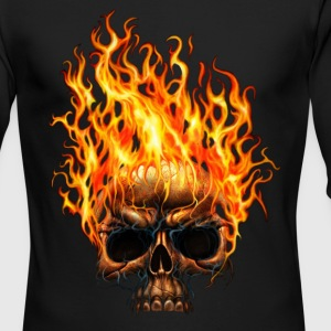 Skull - Men's Long Sleeve T-Shirt by Next Level