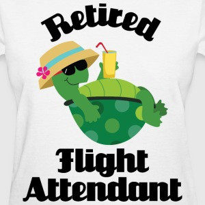 Retired Flight Attendant Women's T-Shirts - Women's T-Shirt