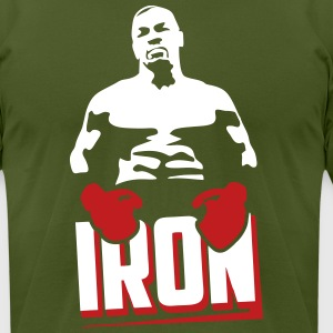 iron - Men's T-Shirt by American Apparel