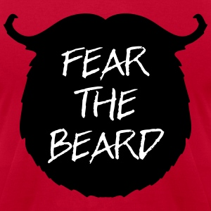 Fear The Beard 2 T-shirts - T-shirt pour hommes American Apparel