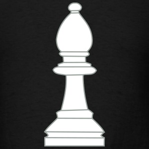 Bishop, chess pieces bishop T-Shirts - Men's T-Shirt