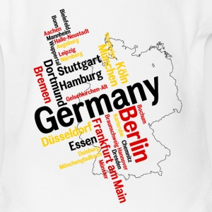 Germany Baby & Toddler Shirts - Short Sleeve Baby Bodysuit