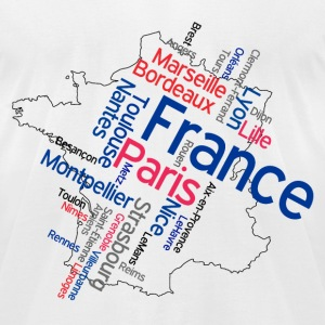 France T-Shirts - Men's T-Shirt by American Apparel
