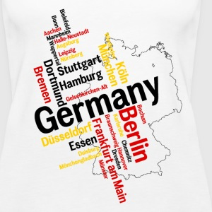Germany Tanks - Women's Premium Tank Top