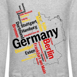 Germany Long Sleeve Shirts - Crewneck Sweatshirt