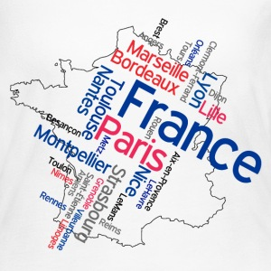 France Long Sleeve Shirts - Women's Long Sleeve Jersey T-Shirt