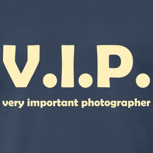 vip photographer T-Shirts - Men's Premium T-Shirt