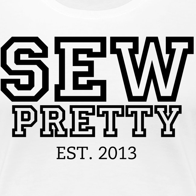 SEW Pretty Letterman - Black and White