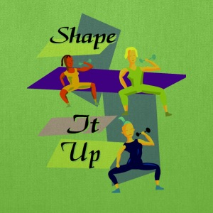 Shape It Up Workout Design Bags & backpacks - Tote Bag
