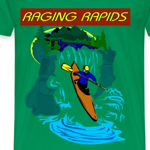 Raging Rapids T-Shirts - Men's Premium T-Shirt