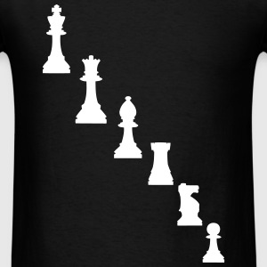 Pawns, chessmen, chess pieces T-Shirts - Men's T-Shirt