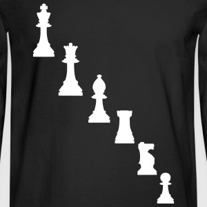 Pawns, chessmen, chess pieces Long Sleeve Shirts - Men's Long Sleeve T-Shirt