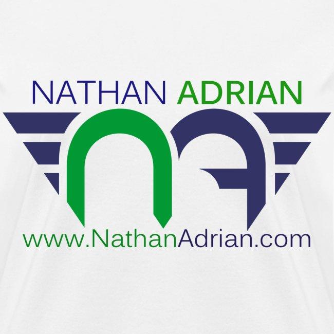 Logo/Website on Front, Nothing on Back.