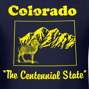 Mens Colorado T-shirt - Men's T-Shirt