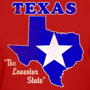 Texas, The Lonestar State womens vintage T - Women's T-Shirt