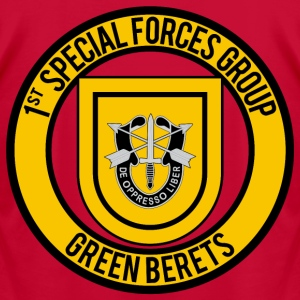 1st Special Forces - Men's T-Shirt by American Apparel