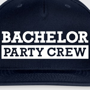 Bachelor Party Crew Caps - Snap-back Baseball Cap