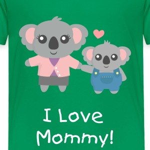 Koala Bear Mum and Child Baby & Toddler Shirts - Toddler Premium T-Shirt