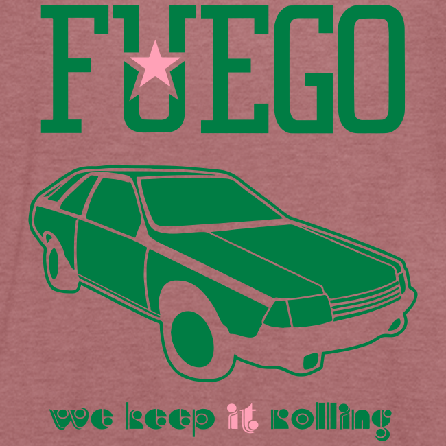 Rogue Fuego With (Green/Pink)