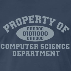 Property Of Computer Science T-Shirts - Men's Premium T-Shirt