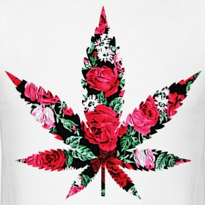 Floral weed T-Shirts - Men's T-Shirt