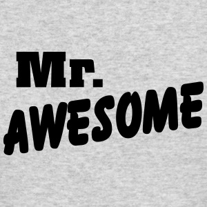 Mr. Awesome Long Sleeve Shirts - Men's Long Sleeve T-Shirt by Next Level