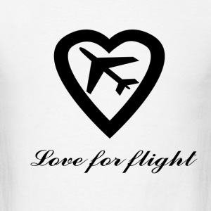 Love for Flight T-Shirts - Men's T-Shirt