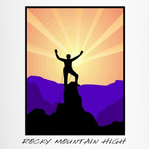 Rocky Mountain Climber Bottles & Mugs - Travel Mug
