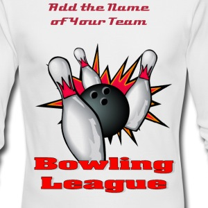 Bowling League Long Sleeve Shirts - Men's Long Sleeve T-Shirt by Next Level