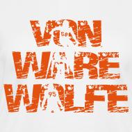 Design ~ Von Ware Wolfe - Ladies - V-Neck