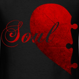 SOULMATE COUPLE LEFT SIDE - Men's T-Shirt