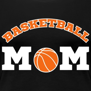Basketball Mom Women's T-Shirts - Women's Premium T-Shirt