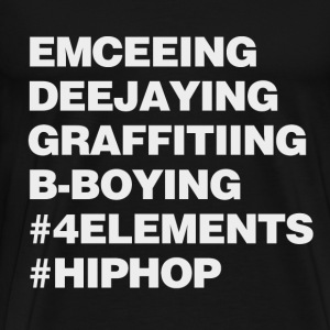 Four Elements of Hip Hop T-Shirts - Men's Premium T-Shirt