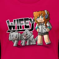 Design ~ Women's Premium T-Shirt: Wifey