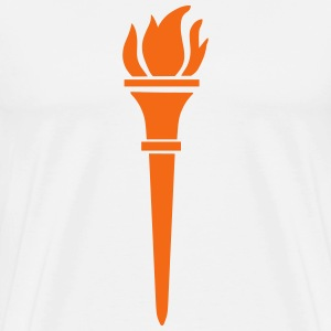 Burning Torch T-Shirts - Men's Premium T-Shirt