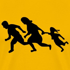 Running Family / Running Immigrants Sign T-Shirts