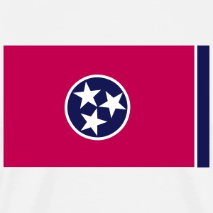 Flag of Tennesse  T-Shirts - Men's Premium T-Shirt