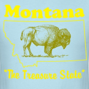 montana state design T-Shirts - Men's T-Shirt