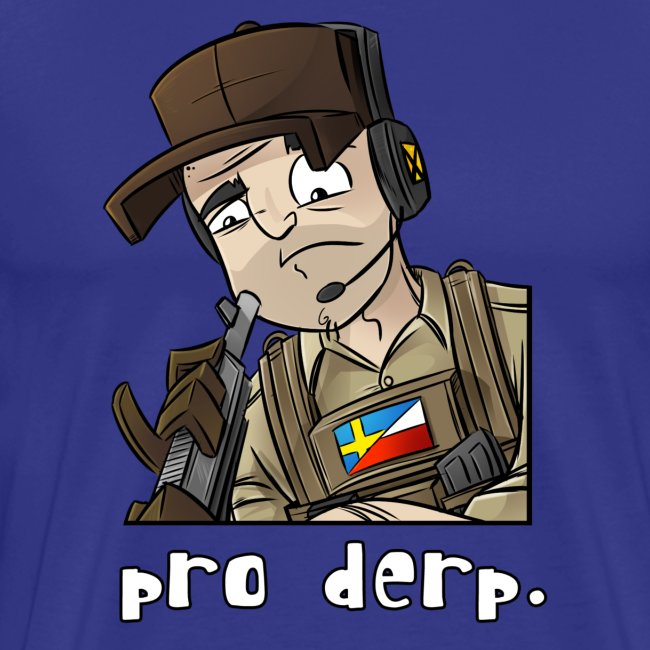 Men's Premium T-Shirt: Pro Derp Shooter